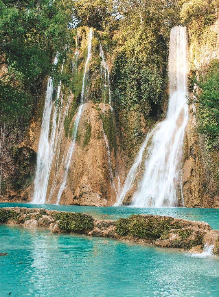 Minas Vieshjas Mexico Waterfall Cascata San Luis Potosi