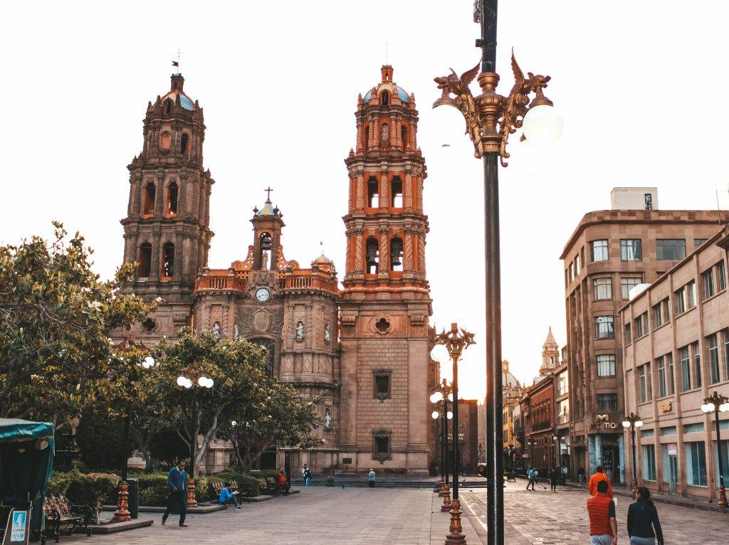San Luis Potosi City Messico Cattedrale